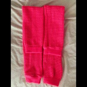 American Apparel Hot Pink Leg Warmers